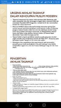 Akhlaq Tasawuf poster