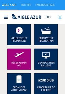 Aigle Azur poster