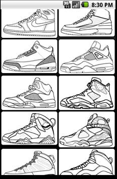 Air Jordan Coloring Book Apk Screenshot