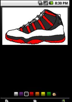 Air Jordan Coloring Book Poster