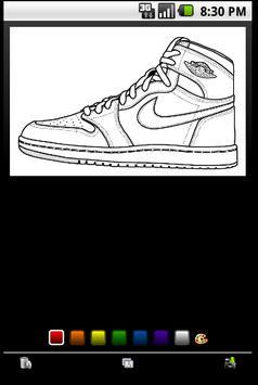 Air Jordan Coloring Book Apk Screenshot