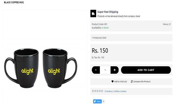 Alight India Brand Store apk screenshot