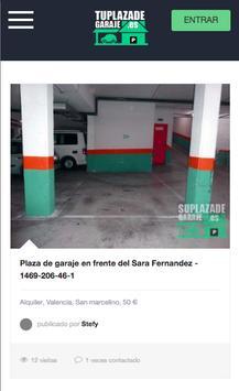 Alquilar plaza  de garaje, www.tuplazadegaraje.es poster
