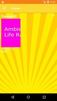 Cosmos3D MTV канал: Ambient Life Radio screenshot 1