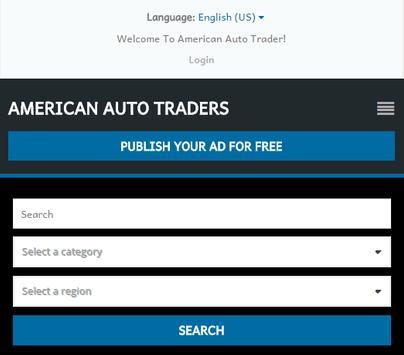 American Auto Traders apk screenshot