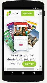Android app maker free-Three Sides poster