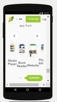 Android app maker free-Three Sides screenshot 2