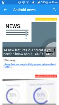 News for Android screenshot 1