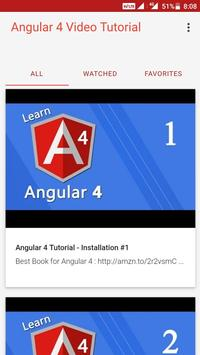 Angular 4 Video Tutorial poster