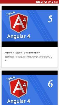Angular 4 Video Tutorial screenshot 2
