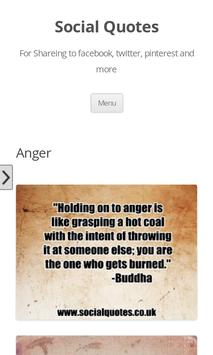 Photo Anger quotes poster