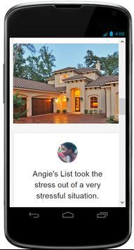Angie's List - Desktop Version screenshot 1