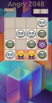 Angry 2048 apk screenshot