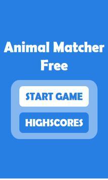 Animal Matcher Free poster