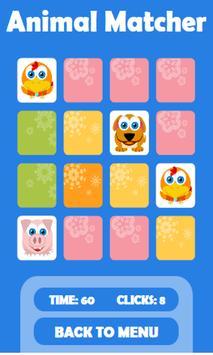 Animal Matcher Free apk screenshot