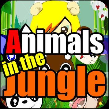 Animales en la Selva poster