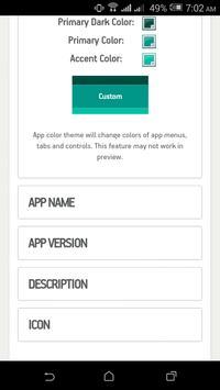 App Builder Pro screenshot 3
