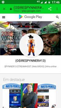 Site App Spynner13 apk screenshot