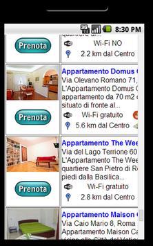 Appartamenti a Roma apk screenshot