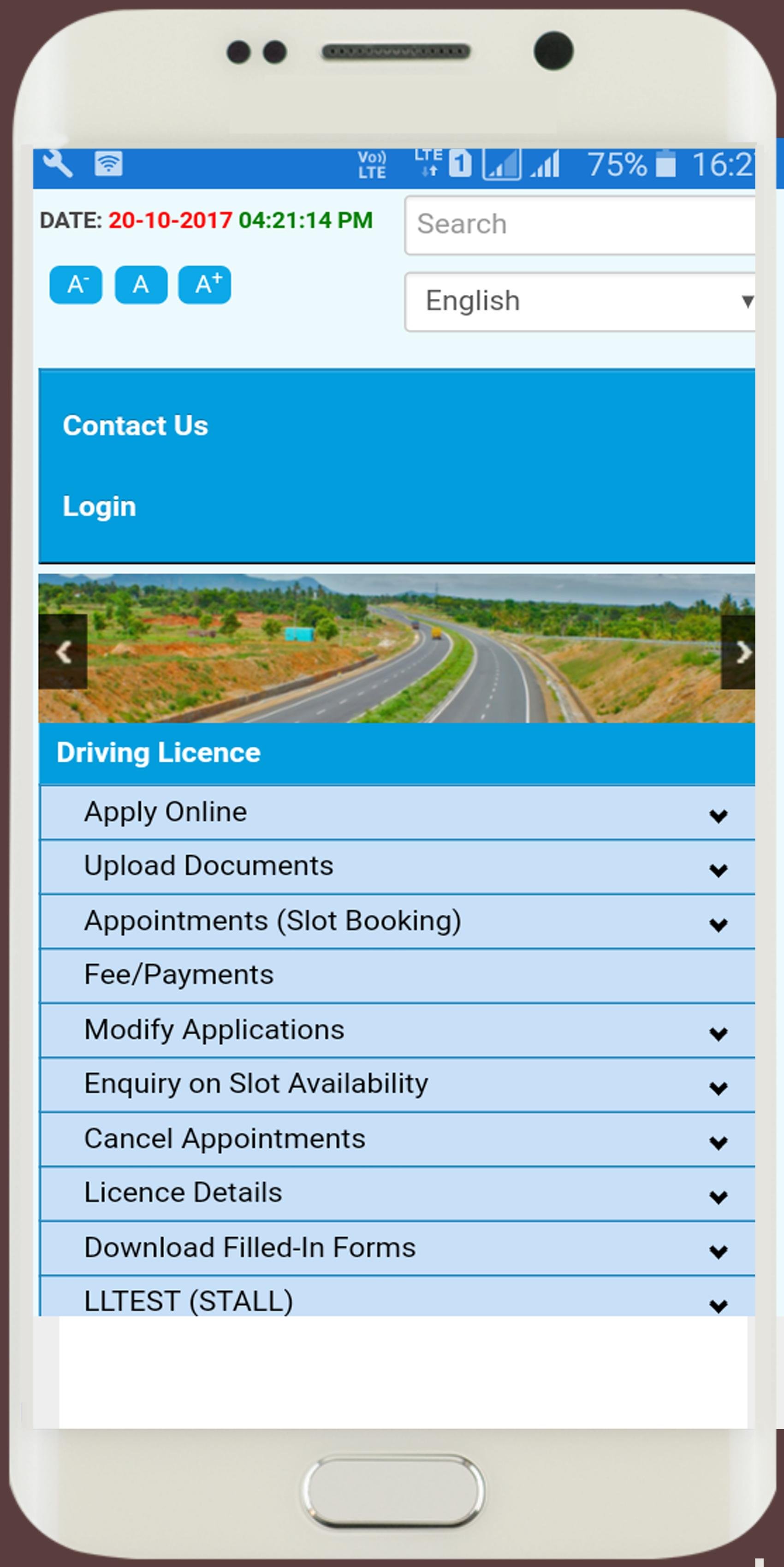 Apply Driving Licence Online for Android - APK Download