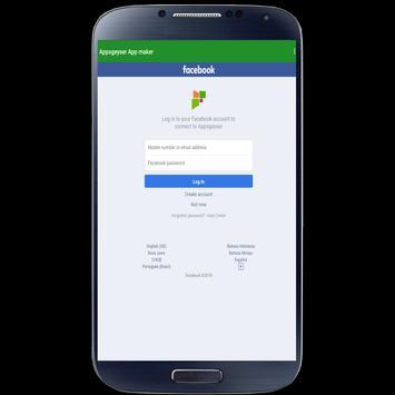 AppsGeyser App Maker screenshot 18