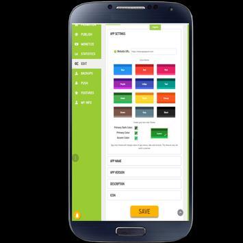 AppsGeyser App Maker screenshot 21