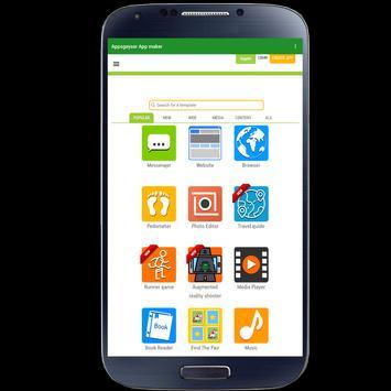 AppsGeyser App Maker screenshot 2