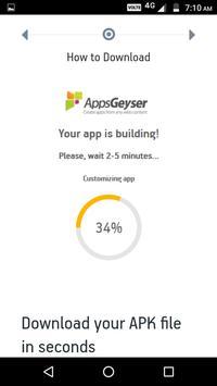 AppsGeyser screenshot 1