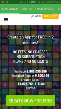 Apps Geyser poster