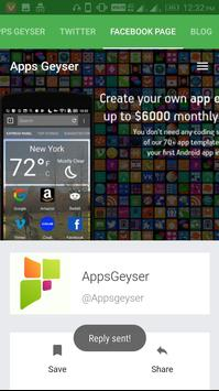 Apps Geyser screenshot 3