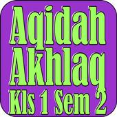 Aqidah Akhlaq Kls 1 Sem 2 icon