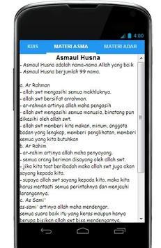 Aqidah Akhlaq Kls 1 Sem 2 apk screenshot