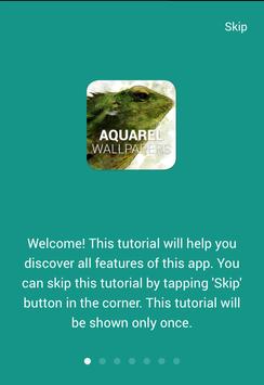 Aquarel Wallpapers poster