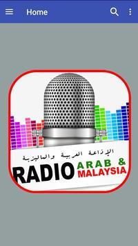 Radio Arab & Malaysia poster