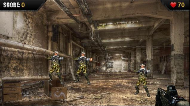 Army Shootout 3D Military Free apk screenshot
