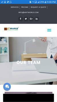 Aritworld Company screenshot 5