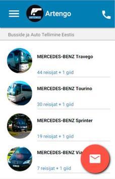 Artengo Busside Tellimine poster