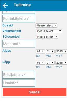 Artengo Busside Tellimine screenshot 7