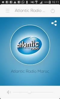 Atlantic Radio Maroc poster