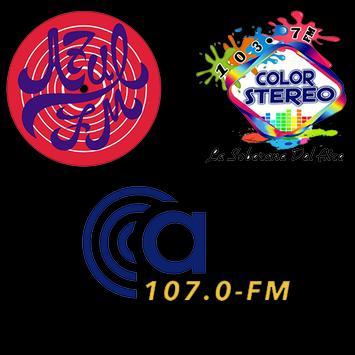 Azul Multimedia: Azul FM - Ca107 y Color Estéreo poster
