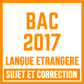 BAC 2017 LANGUE ÉTRANGÈRE icon