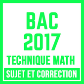 BAC 2017 TECHNIQUE MATH icon