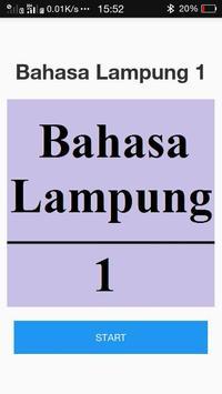 BAHASA LAMPUNG 1 poster