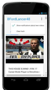 BFordlancer's Youtube Channel apk screenshot