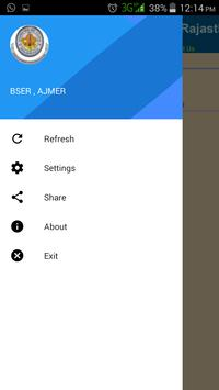 BSER Ajmer apk screenshot