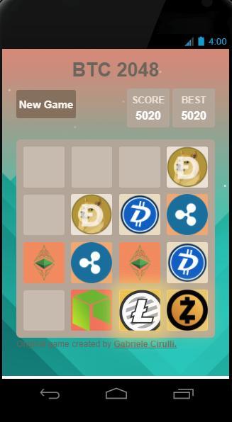 Bitcoin 2048 APK