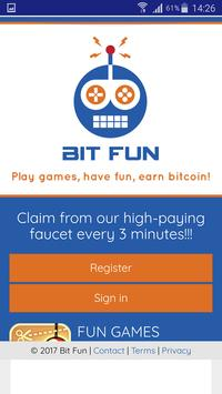 BITFUN 2018 poster