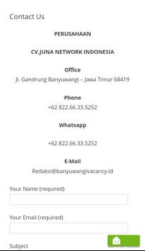 Banyuwangi Vacancy screenshot 2