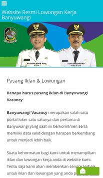 Banyuwangi Vacancy screenshot 3