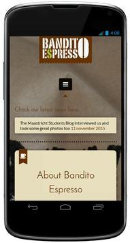 Bandito Espresso poster